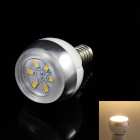 KINFIRE E14 3W 220lm 3000K 6 x SMD 5730 LED Warm White Light Lamp Bulb - (AC 85~265V)