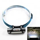 KINFIRE USB Rechargeable 6 x SMD 5730 LED 220lm 3-Mode White Headlamp / Camping Light - Grey