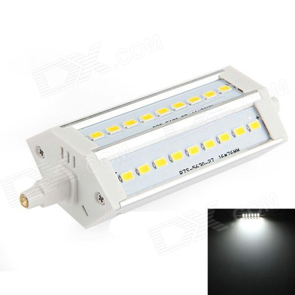 R7S 10W 720lm 27-SMD LED Cold White Light Lamp Corn Bulb (85~265V)