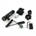 ACCU Aluminum Alloy Redeployment Green Laser Gun Aiming Scope Sight - Black