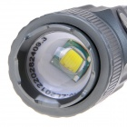 NEW-S61 LED 800lm 3-Mode White Light Zooming Flashlight - Titanium Gray (1 x 18650)