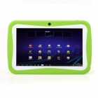 "iRulu 7"" Android 4.0 Kids Tablet PC w/ 512MB RAM, 8GB ROM, Dual Camera - Blue Green"