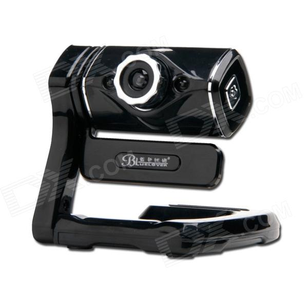 BLUELOVER M2200 Free Drive USB HD 9.0 MP Camera - Black