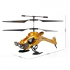 Yiwan W808-9 3.5-Channel Flying Dragon Remote Control Airplane w/ Gyro - Golden