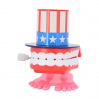 Plastic Wind Up Chattering Teeth Toy