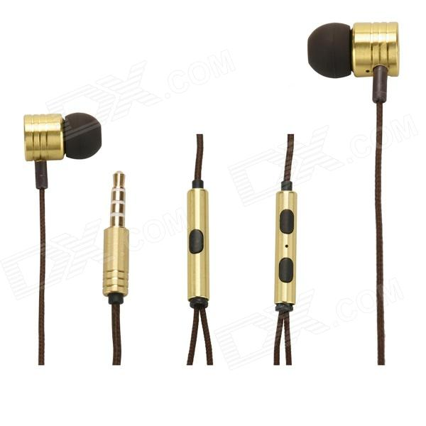 XIAOMI 3.5mm Stereo In-ear Earphone for MI2 MI2S MI2A Mi1S M1,JIAYU G4, G3S, G2S - Yellow moxo m 157 in ear stereo earphone