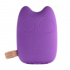 "Totoro DHY-818 ""9000mAh"" Dual USB Portable Mobile Power Bank - Purple"