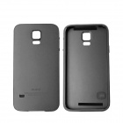 Protective Aluminum Alloy Back Case Frame Cover for Samsung Galaxy S5 - Black