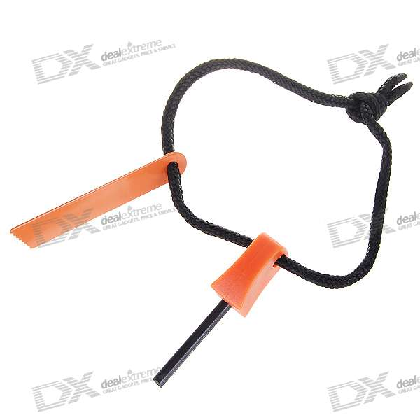 Wilderness Survival Fire Sparkle + Blade Cutter Tool (Small)