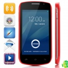 "DOOGEE Collo3 DG110 MTK6572 Dual-core Android 4.2.2 WCDMA Bar Phone w/ 4.0"" IPS, 4GB ROM, GPS - Red"
