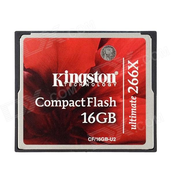 Kingston CF/16GB-U2 Ultimate Compact Flash Memory Card - Red (16GB / Class 151~266X)