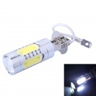 H3 11W 400lm 1-LED + 4-COB White Light Car Foglight / Headlamp (DC 12~24V)