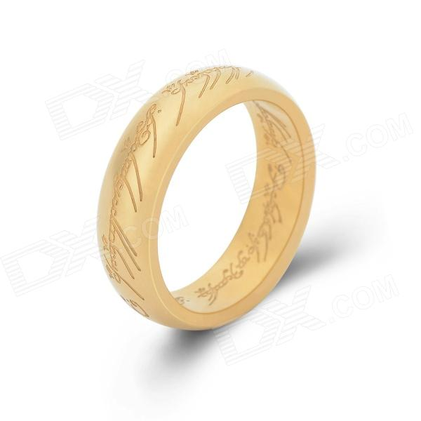 KCCHSTAR Gold Plating Ring - Golden (US Size 8) kcchstar gold plating ring golden us size 8