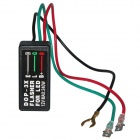 DOP 3X Car / Motorcycle Flasher Relay - Black (12V)