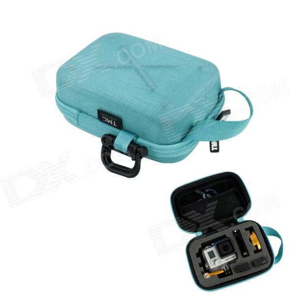 TMC HR123 EVA Small Case for Gopro Hero 4/3 / 3 Plus Cam / SJ4000 - Light Blue рулонный экран для проектора elite screens electric100v 100 4 3 152x203cm mw white
