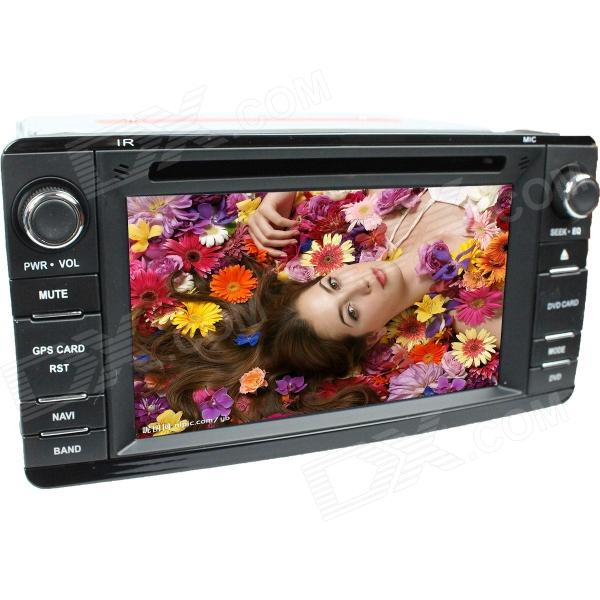 LsqSTAR 7 Touch Screen 2-Din Car DVD Player w/ GPS, FM, RDS, Canbus,BT,AUX for Mitsubishi Outlander lsqstar 7 touch screen 2 din car dvd player w gps am fm rds 6cdc tv dual zone aux for rav4
