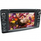 "LsqSTAR 7"" Touch Screen 2-Din Car DVD Player w/ GPS, FM, RDS, Canbus,BT,AUX for Mitsubishi Outlander"