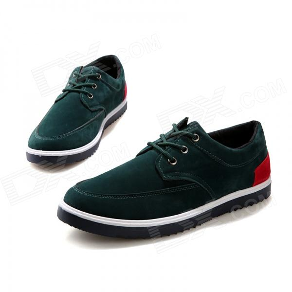 Four Seasons Casual Canvas Shoes for Men - Green (EUR Size 44) брюки linse брюки