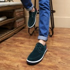 Four Seasons Casual Canvas Shoes for Men - Green (EUR Size 44)