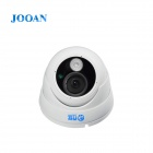 "JOOAN JA-738KRB-T 1.0 MP 1/4"" CMOS Metal Case IP Dome Camera w/ IR-LED / Wide Angle - White"