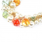 Women's Gorgeous Multi-Layer Clavicle Pearl Bracelet - Multicolor