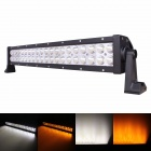 "MZ 22"" 120W 9600lm 30°+60° Combo White/Yellow LED Work Light Bar Off-road SUV ATV Fog Lamp (10~30V)"
