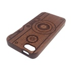 Retro Camera Style Detachable Protective Wooden Back Case for IPHONE 5 / 5S