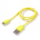 MFi Alexpro Lightning 8-Pin to USB Data Sync / Charging cable for IPHONE, IPAD, IPOD - Yellow (50cm)