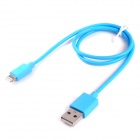 MFi Alexpro Lightning 8-Pin to USB Data Charging Cable - Blue (50cm)