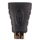 CM01 HDMI Female to Mini HDMI Male Electroplated Oxygen-Free Copper Adapter / Converter (10 PCS)