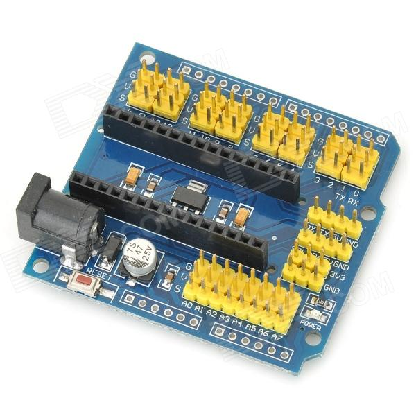 Fengyangdianzi 008 carte d'extension pour Arduino - Bleu + multicolore