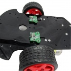 Measuring Module / Encoding Disk Set for Smart Car Chassis - Black