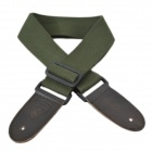 DEDO MA-51 Fashion Polyester Cotton Adjustable Guitar / Bass Strap - Green