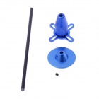 Aluminum Alloy GPS Folding Antenna Base Mount Holder for DJI II - Blue