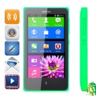 "Nokia X Android 4.1 WCDMA Dual-core Bar Phone w/ 4.0"" Screen, Wi-Fi and Bluetooth - Jade Green"
