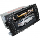 "LsqSTAR 7"" Touch Screen 2-DIN Car DVD Player w/ GPS, FM, RDS, 6CDC, Canbus, AUX for Mondeo / Focus"
