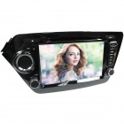 "LsqSTAR 8"" Touch Screen 2-Din Car DVD Player w/ GPS, AM, FM, RDS, iPod, 6CDC, TV,AUX for Kia K2/ Rio"