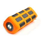 DITTER S33 Wireless Outdoor Sport Bluetooth V2.1 Speaker / Portable 7000mAh Power Bank - Orange