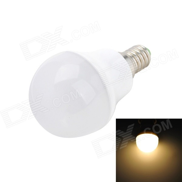 Brother BLD-PC04 E14 3W 280lm 3500K 10-SMD 2835 LED Warm White Light Bulb - Silver (180~250V)