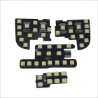 Carking 6W 750lm 6000K 47-SMD 5050 LED White Car Dome Lights Kit for 2010-2012 Spirior