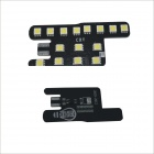 Carking 6W 750lm 6000K 45-SMD 5050 LED White Car Dome Lights Kit for 12 New Fit / New CITY