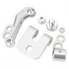 Aluminum Alloy FPV Monitor Mounting Bracket for Futaba - Silvery White + Black