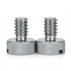 Aluminum Alloy 1/4 Adapter Screw for R/C Toy - Taupe