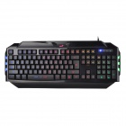 Genius K5 USB 2.0 Wired 104-Key Gaming Keyboard w/ Backlight - Black