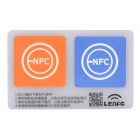13.56MHz NFC Smart Tag Set for Xiaomi / Meizu MX3 / Nokia Lumia / Samsung S4 - Orange + Blue