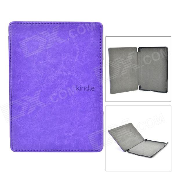 "Protection PU Etui 6 ""Amazon Kindle 4 / 5 - Purple"