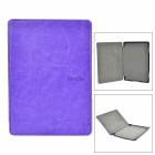 "Protective PU Case for 6"" Amazon Kindle 4 / 5 - Purple"