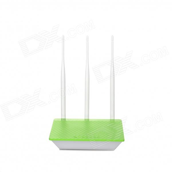 JCG JYR-N490 300Mbps Wide Coverage Intelligent Wireless Router - Green + White