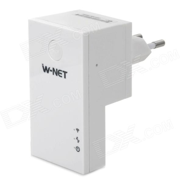 W-NET U21 EU Plug Wireless 150Mbps IEEE 802.11b / g Router - White
