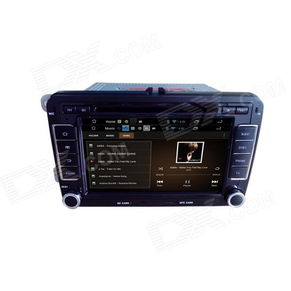 7 android 4 2 cran capacitif lecteur dvd de voiture w 1024x600 ips gps le rds wifi radio. Black Bedroom Furniture Sets. Home Design Ideas